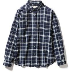 Cシールドプレザントシャツ C-SHIELD Pleasant Shirt 8212040 (046)ネイビー Mサイズ [アウトドア シャツ レディース]