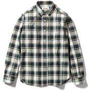 Cシールドプレザントシャツ C-SHIELD Pleasant Shirt 8212040 グリーン Mサイズ [アウトドア シャツ レディース]