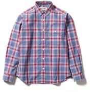 SCラージチェックシャツ SC Large Check Shirt 8212042 (080)レッド Lサイズ [アウトドア シャツ レディース]