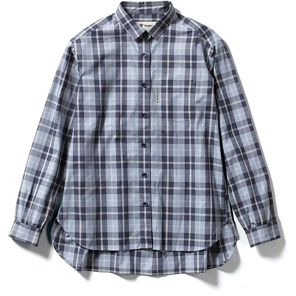 TSエニタイムシャツ TS Anytime shirt 8212043 (046)ネイビー Mサイズ [アウトドア シャツ レディース]