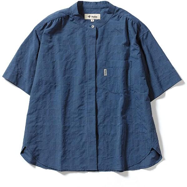CシールドプレザントS S/S C-SHIELD Pleasant Shirt S/S 8212045 (040)ブルー Sサイズ [アウトドア シャツ レディース]