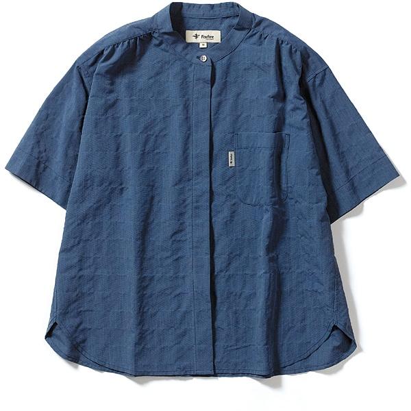 CシールドプレザントS S/S C-SHIELD Pleasant Shirt S/S 8212045 (040)ブルー Mサイズ [アウトドア シャツ レディース]