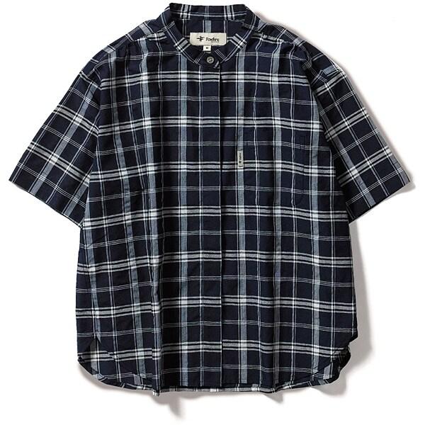 CシールドプレザントS S/S C-SHIELD Pleasant Shirt S/S 8212045 (046)ネイビー Sサイズ [アウトドア シャツ レディース]