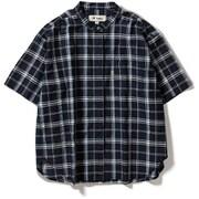 CシールドプレザントS S/S C-SHIELD Pleasant Shirt S/S 8212045 (046)ネイビー Mサイズ [アウトドア シャツ レディース]