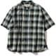 CシールドプレザントS S/S C-SHIELD Pleasant Shirt S/S 8212045 (060)グリーン Sサイズ [アウトドア シャツ レディース]
