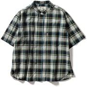 CシールドプレザントS S/S C-SHIELD Pleasant Shirt S/S 8212045 (060)グリーン Lサイズ [アウトドア シャツ レディース]