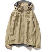 ミズリープジャケット Mizzleap Jacket 8213032 (011)ベージュ Mサイズ [アウトドア レインジャケット レディース]