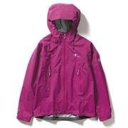 W・クレストクライマージャケット W・Crest Climber Jacket 7411033 (093)パープル Sサイズ [アウトドア レインジャケット レディース]