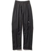 W・クレストクライマーパンツ W・Crest Climber Pants 7411035 (025)ブラック Sサイズ [アウトドア レインパンツ レディース]