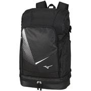 バックパック(1本入れ) ユニセックス 63JD000590 ブラック×シルバー [テニスラケットバックパック]