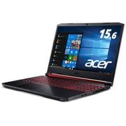 AN515-54-F76QG6 [Nitro 5 Core i7-9750H/メモリ 16GB/128GB SSD+1TB HDD/GTX 1650/ドライブなし/15.6型/Windows 10 Home 64 ビット/日本語配列/オブシディアンブラック]