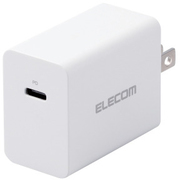 ACDC-PD0630WH [ノートPC用ACアダプター/Type-C/PD対応/30W/Type-C1ポート/GaN(窒化ガリウム)/ホワイト]