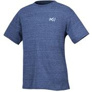 M ロゴ ASA Tシャツ ショートスリーブ MIV01769 6357 HEATHER NAVY XSサイズ(日本:Sサイズ) [アウトドア カットソー メンズ]