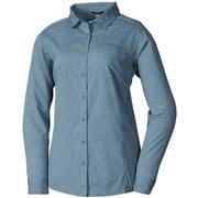 ウィメンズ アルピシャツ ロングスリーブ MIV7749J ORION BLUE 8737 XSサイズ(日本:Sサイズ) [アウトドア シャツ レディース]