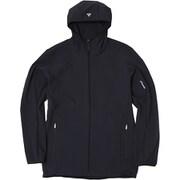 Airy Soft Shell Jacket エアリーソフトシェルジャケット PHA12WT15 オフブラック XLサイズ [アウトドア ジャケット メンズ]