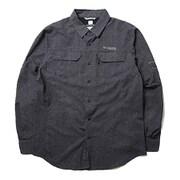 イリコメンズロングスリーブシャツ AE1579 012 Black Lサイズ [アウトドア シャツ メンズ]