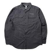 イリコメンズロングスリーブシャツ AE1579 012 Black XLサイズ [アウトドア シャツ メンズ]
