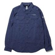 イリコメンズロングスリーブシャツ AE1579 465 Collegiate Navy Lサイズ [アウトドア シャツ メンズ]