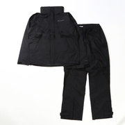 シンプソンサンクチュアリ II  レインスーツ PM0126 010 Black Lサイズ [アウトドア レインウェア メンズ]