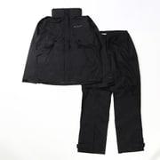 シンプソンサンクチュアリ II  レインスーツ PM0126 010 Black XLサイズ [アウトドア レインウェア メンズ]