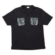 ポーラーパイオニアショートスリーブシャツ PM6513 010 Black XLサイズ [アウトドア シャツ メンズ]