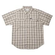 シルバーリッジ2.0プラッドショートスリーブブシャツ AE0648 243 Crouton Gingham XLサイズ [アウトドア シャツ メンズ]
