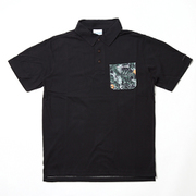 ポーラーパイオニアショートスリーブポロ PM1868 010 Black XLサイズ [アウトドア シャツ メンズ]