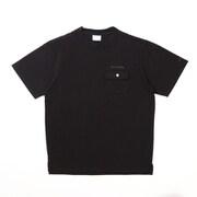 ツラキナパスショートスリーブクルー PM1882 010 Black XLサイズ [アウトドア カットソー メンズ]