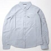イリコロングスリーブシャツ AR9137 031 Cirrus Grey Heather Lサイズ [アウトドア シャツ レディース]