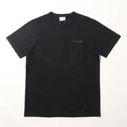 ヤングストリートショートスリーブクルー PM1895 010 Black XLサイズ [アウトドア カットソー メンズ]