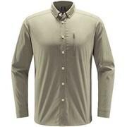 ブルーン ロングスリーブ シャツ Brunn LS Shirt Men 604395 3C5 LICHEN Lサイズ [アウトドア 長袖シャツ メンズ]