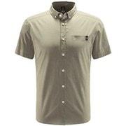 ブルーン ショートスリーブ シャツ Brunn SS Shirt Men 604396 3C5 LICHEN Mサイズ [アウトドア 半袖シャツ メンズ]