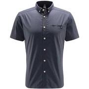ブルーン ショートスリーブ シャツ Brunn SS Shirt Men 604396 4D8 DENSE BLUE Sサイズ [アウトドア 半袖シャツ メンズ]