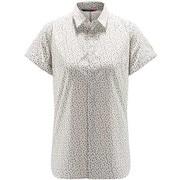 イドゥン ショートスリーブ ティー Idun SS Shirt Women 604002 4HL_SOFT WHITE FLOWER Sサイズ [アウトドア シャツ レディース]