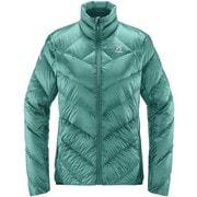 リムシリーズ エッセンス ジャケット L.I.M Essens JK Women 604611 4DG_Glacier Green XSサイズ [アウトドア ダウン レディース]