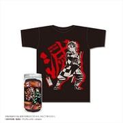 鬼滅の刃 ボトルTシャツ A柄/黒 XS [キャラクターグッズ]