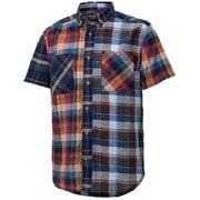 シーエルプラッドハーフスリーブシャツ CL PLAID H/S SHIRT TOMPJA75 (ML)マルチ XLサイズ [アウトドア シャツ メンズ]