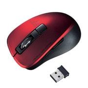 MA-WBL153R [静音ワイヤレスブルーLEDマウス(5ボタン・レッド)]