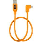 CUCRT02-ORG [テザープロ ライト アングル アダプター USB 3.0 トゥ USB-C オレンジ]