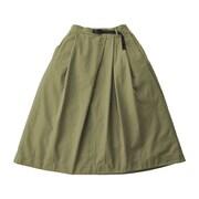 TALE CUT SKIRT テイルカットスカート GLSK-002 OLIVE Lサイズ [アウトドア スカート レディース]