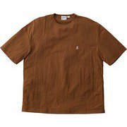 SHELL CAMP TEE シェル キャンプTシャツ GUJK-039 MOCHA XSサイズ [アウトドア カットソー メンズ]