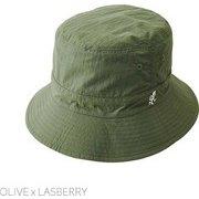 KIDS SHELL REVERSIBLE HAT キッズシェルリバーシブルハット GAC-042K OLIVE x RASBERY [キッズ小物]