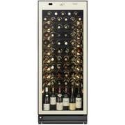 ST-RV273GL(A) [LongFresh(ロングフレッシュ) 日本製ワインセラー 77本収納 左開き 1温度タイプ アーモンドホワイト]