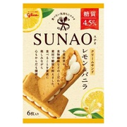 SUNAO クリームサンド レモン&バニラ 6枚