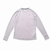 Q SPEED シーズンレスロングスリーブ Tシャツ MT01252 AG アスレチックグレー Lサイズ [ランニングシャツ メンズ]