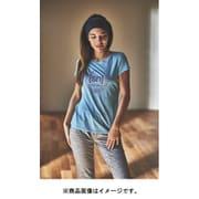 W PRINTED TEE レディース半袖グラフィック[sn]パッピーロゴTシャツ SNW013403 K95 ブルー Mサイズ [アウトドア カットソー レディース]