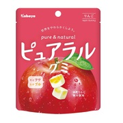 ピュアラルグミ りんご 58g