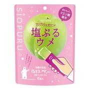 井村屋 ワンプッシュゼリー塩ぷるウメ15g×6本 [機能性食品・菓子]