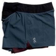 W Running Shorts 205.00134 Navy Mulberry XSサイズ [ランニングパンツ レディース]