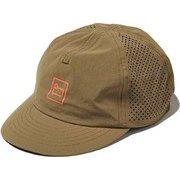フリーサイズ PUNCHING MESH CAP WJAC0013 KHAKI [アウトドア 帽子]